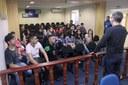 Alunos do Espro falam da experiência de visitar a Câmara de Osasco