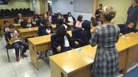 Alunos do Jd. D'Abril visitam a Câmara de Osasco