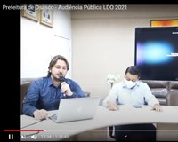 Audiência Pública sobre a LDO 2021 aconteceu de forma virtual com 400 pessoas