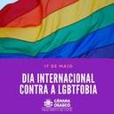 Câmara de Osasco destaca o Dia Internacional de combate à LGBTfobia