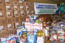 Câmara ultrapassa meta e arrecada 7,5 toneladas de alimentos