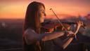 Violinista faz campanha após perder visto na Austrália por falta de seguidores