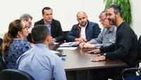 Comissão de Educação, Cultura e Esportes reúne-se com o Secretário Municipal de Cultura
