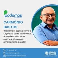 """""""Conheça Seu Vereador"""" - Carmônio Bastos"""