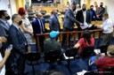 Manifestantes pedem moradias e são recebidos por vereadores de Osasco