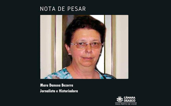 Nota de Pesar: Mara Danusa Bezerra