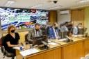 Plenário ganha adaptações para retomada de sessões presenciais